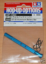 Tamiya 54564 DT-03 auminum Batterie Bar (DT03/DT03T/DT-03T), Neuf sous emballage