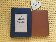 Papyrus Stationers Of Bath And London Boxed Leather Notebook And Pen