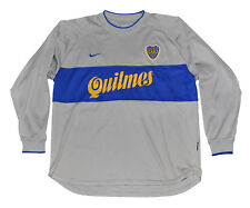 Boca Junior long sleeves Jersey shirt Nike L 2000 3rd model Gray