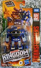 TRANSFORMERS WAR FOR CYBERTRON KINGDOM WFC-K21 SOUNDWAVE CORE IN HAND FAST SHIP