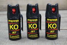 Ballistol Pfefferspray 3 x 40 ml 11% OC Tierabwehrspray JET STRAHL 10,83€/100ml