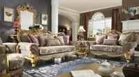 BRAND NEW SOFA SET LIVING ROOM SET HD-1634 (SOFA, LOVESEAT, CHAIR, COFFEE TABLE)