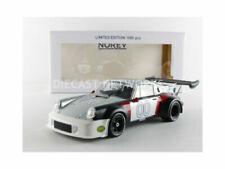 Véhicules miniatures noirs Porsche 1:18