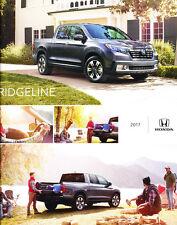 2017 Honda Ridgeline Truck 22-page Original Car Sales Brochure Catalog