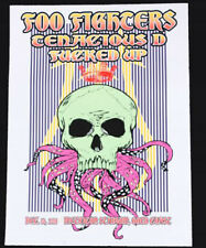 Foo Fighters 2011 Show Poster Tour Print Litho