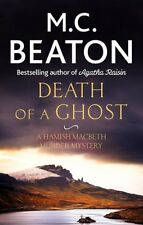 M C BEATON __ DEATH OF A GHOST __ SHELF WEAR __ FREEPOST UK