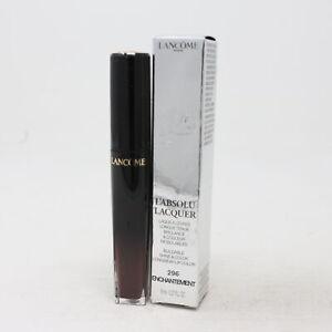 Lancome L'absolu Lacquer Longwear Lip Gloss  0.27oz/8ml New With Box