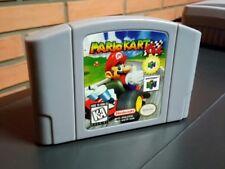Mario Kart Nintendo 64 Game Card 1997