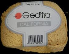 (85 €/ kg): 400 g California von Gedifra, zartgelbe Baumwollmischung #2104