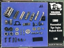1/35 RESIN ACCESSORIES VERLINDEN 1360 DISASSEMBLED TIGER I ENGINE MAYBACH HP230