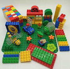 LEGO Duplo Sammlung - Steine, Platten, Tiere, Auto, Figur, Grundplatte Konvolut