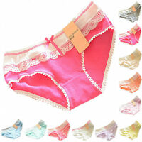 Cute Women's Panties Butterfly Cozy Cotton Briefs Knickers Lingerie Underwear