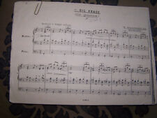 ORGAN William Wolstenholme British Composer The Question and The Answer xerox