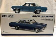 37514 HR PREMIER HOLDEN PYRENEES BLUE METALLIC 1:18 DIE CAST MODEL CAR