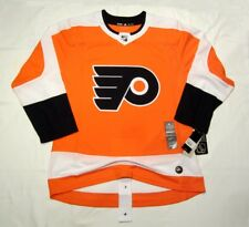 PHILADELPHIA FLYERS size 54 = size XL - ADIDAS HOCKEY JERSEY Climalite Authentic