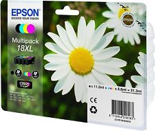 GENUINE EPSON DAISY 18XL C13T18164010 T1816 MULTIPACK INKS INKS XP 205 305 405 4