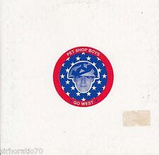 PET SHOP BOYS Go West CD Single / Card Sleeve