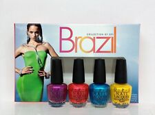 Opi Nail Lacquer - Brazil - Beach Sandies Mini Collection 4pcs x 1/8oz