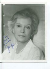 Jane Greer Twin Peaks Out of the Past Dick Tracy Signed Autograph Photo