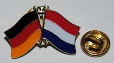 FREUNDSCHAFTSPIN 0104 PIN ANSTECKER DEUTSCHLAND / NIEDERLANDE HOLLAND FAHNE PINS