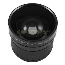 58 mm 58mm 0.21X Lente Ojo De Pez para Canon Nikon Sony DSLR