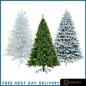 Christmas Tree Xmas Tree 5FT 6FT 7FT 8FT With Metal Stand Home Decor