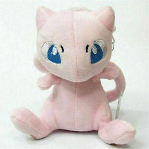 "6"" Mew Plush Doll Teddy Stuffed Soft Toy Kids Cute PINK Christmas Gift"