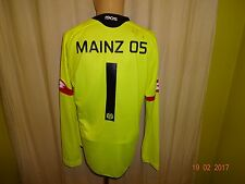FSV Mainz 05 Original Lotto Junior Torwart Matchworn Trikot 2015/16 + Nr.1 Gr.XL