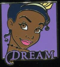 Disney Princess Words Mystery Tiana Dream Princess and Frog Disney Pin 118650