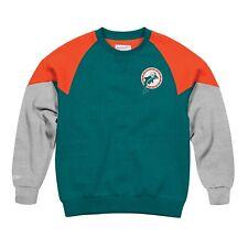 Miami Dolphins NFL Mitchell & Ness Men's Grey Men Sweatshirt
