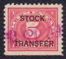 #RD4 5c Stock Transfer, Used [1] **ANY 4=FREE SHIPPING**