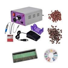Professional Electric Nail Manicure Pedicure Drill Machine Tool Set Kit Bit