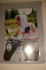 Shinee onew odd official photocard card  Kpop k-pop u.s seller w/toploader