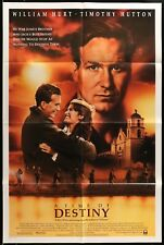 A TIME OF DESTINY William Hurt ORIGINAL 1988 1 ONE SHEET MOVIE POSTER