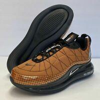 Nike Air Max MX-720-818 GS Metallic Copper Black Shoes CQ4010-800 Sz 3Y / 5Wmns