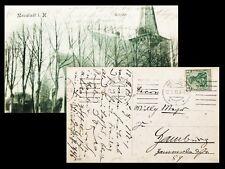 1913 Löns Hermann avec Ernestine sassenberg manuscrite CARTE POSTALE