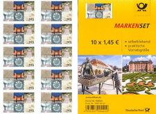 Markenset selbstklebend postfrisch - neu 10 Briefmarken 1250 Jahre Schwetzingen