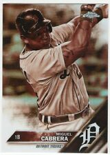 2016 Topps Chrome Sepia Refractor Miguel Cabrera # 109
