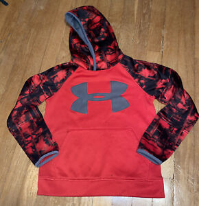 bots under armour hoodie red ysm