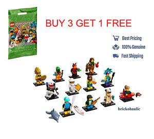 Lego Series 21 71029 Collectible Minifigures Warrior Pug Girl Beekeeper YOU PICK
