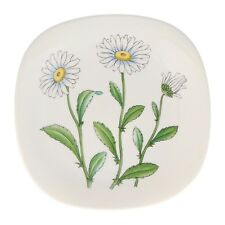 A Rorstrand Daisy / Marguerite wall plate Swedish floral pottery