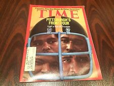 1975 TIME Magazine PITTSBURGH STEELERS