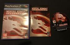 Mortal Kombat 2 Armageddon PS2 Play Station 2 Pal ESPAÑOL