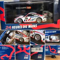 Rare Porsche 911 GT3 RSR Minichamps No.76 1:64 24Hr Du Mans MIB Ltd Edit