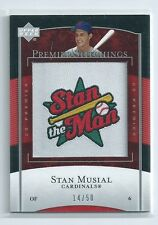 Stan Musial 2003 UD Patch Collections MVPS Musial #mvp-20