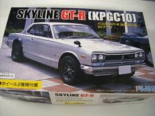 NEW FUJIMI 1971 NISSAN SKYLINE GT-R (KPGC10) 1/24 Scale PLASTIC MODEL KIT