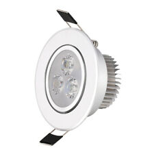 1X LED Downlight Recessed Ceiling Light Lamp Bulb Cool White 6W + Driver AC 220V