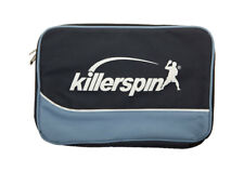 NEW Killerspin 605-25 Dual Zipper Compartments Optima Paddle Case - Grey & Black