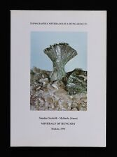 More details for minerals of hungary 1996 mineralogy book