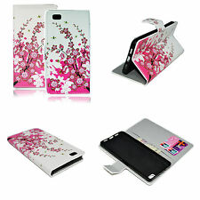 Book Flip Leather Soft Gel Wallet Cover Case For Huawei Ascend P8 Lite P8 Mini